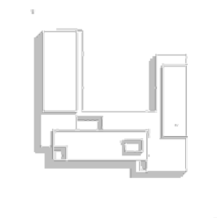 Planta de Techos Casas modernas: Ideas, imágenes y decoración de Poggi Schmit Arquitectura Moderno