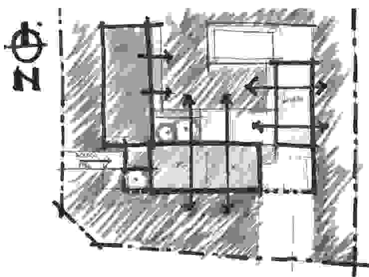 Idea Planta Casas modernas: Ideas, imágenes y decoración de Poggi Schmit Arquitectura Moderno