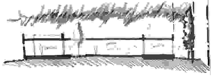 Idea Corte Casas modernas: Ideas, imágenes y decoración de Poggi Schmit Arquitectura Moderno