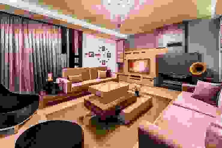 RBK evi Lapta/ Girne Modern Oturma Odası Şölen Üstüner İç mimarlık Modern