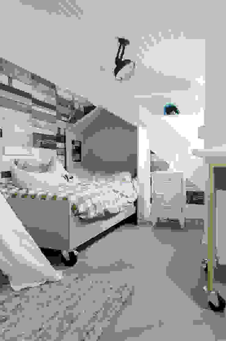 Interieurontwerp bovenverdieping Woonboerderij van Mignon van de Bunt Interieurontwerp, Styling & Realisatie Industrieel