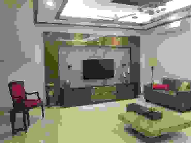 Living TV unit - After by Uncut Design Lab