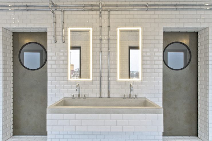 harryclarkinterior Salle de bain industrielle