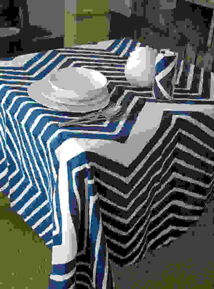 Stamperia Bertozzi ComedorAccesorios y decoración Algodón Azul