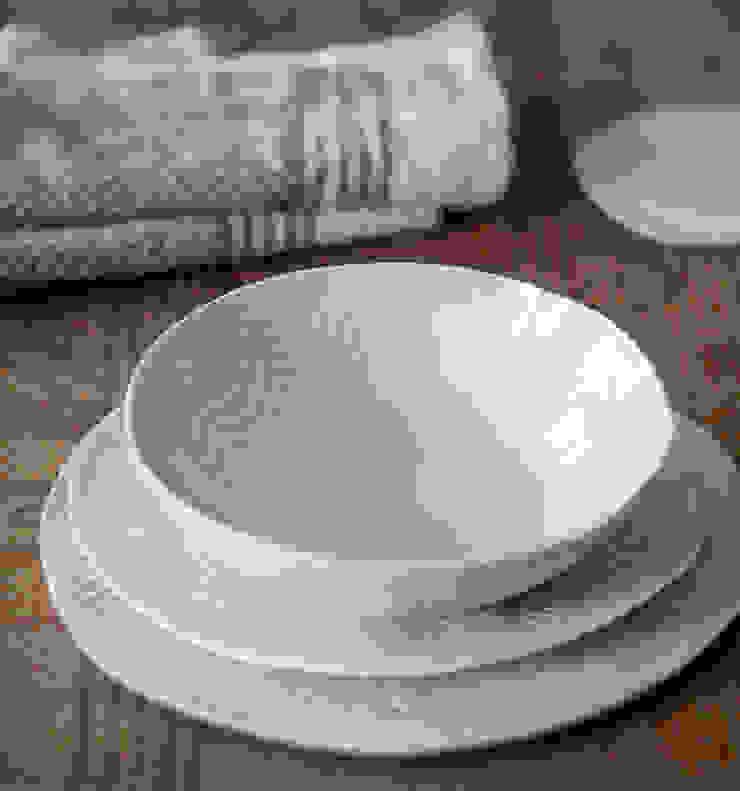 Stamperia Bertozzi CocinaVasos, cubiertos y vajilla Porcelana Blanco