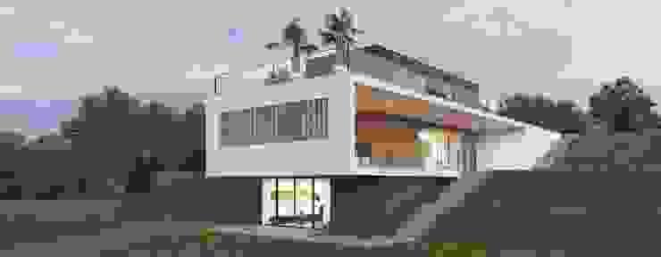 Casa in legno spettacolare Progettolegno srl Case moderne Legno