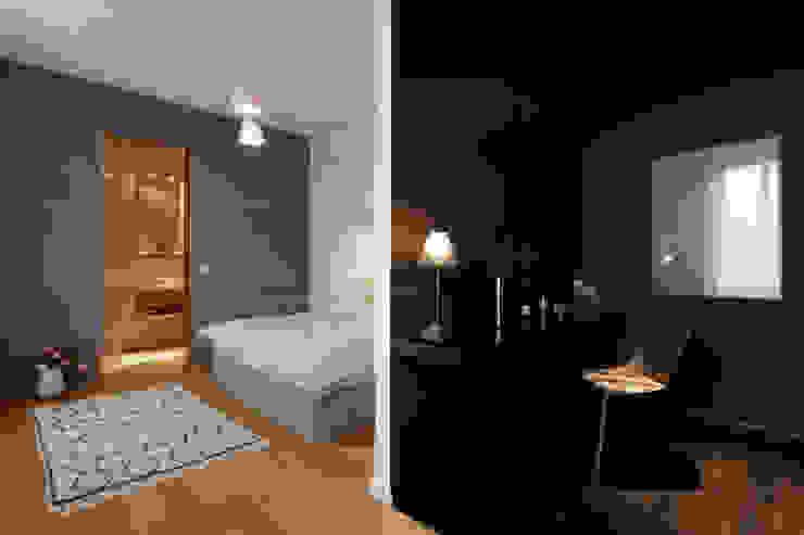 Eclectic style bedroom by FRANKEN\ARCHITEKTEN GMBH Eclectic