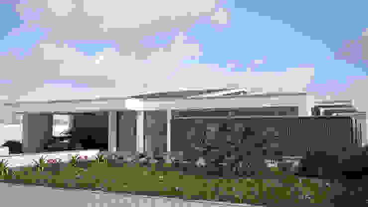 PROJETARQ Rumah Modern Wood effect