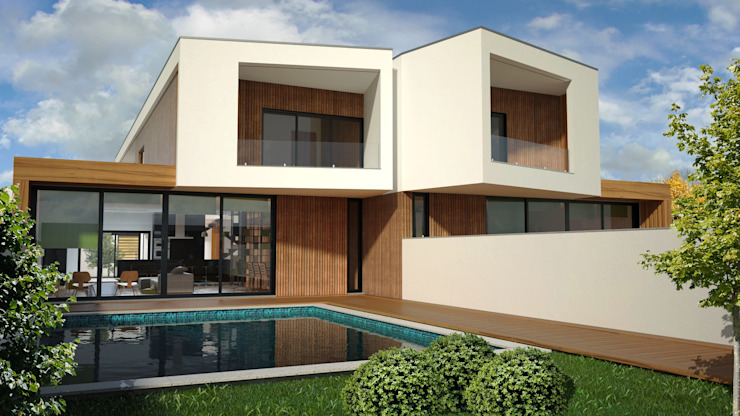 Houses by PROJETARQ, Modern