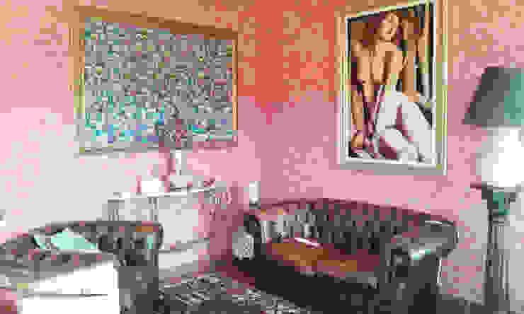 Classic style living room by Studio la Piramide Architettura e Urbanistica Classic