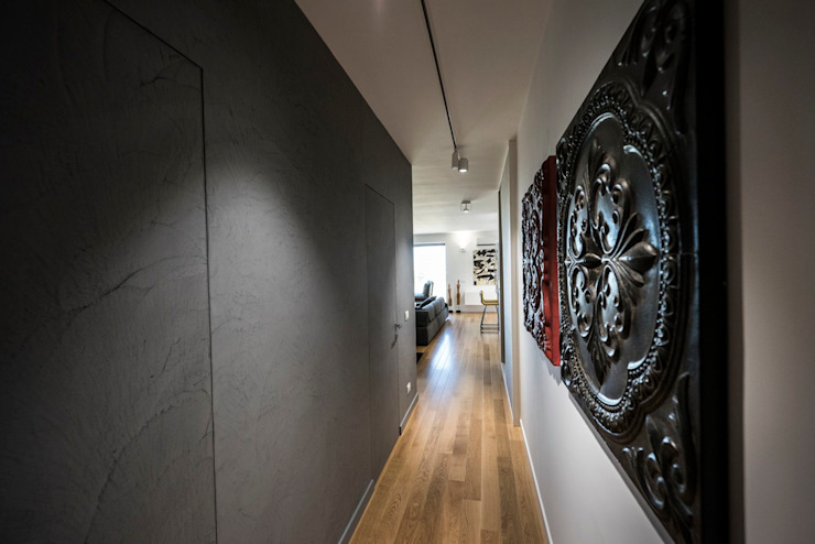 Laboratorio di Progettazione Claudio Criscione Design Moderne gangen, hallen & trappenhuizen