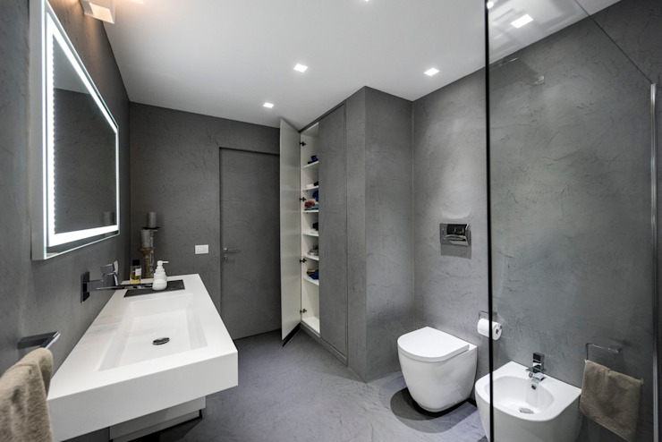 Laboratorio di Progettazione Claudio Criscione Design ห้องน้ำ