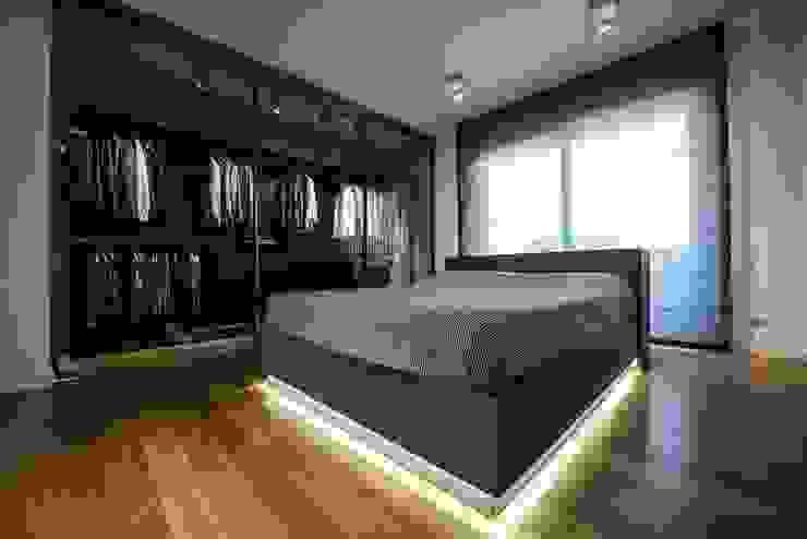 Laboratorio di Progettazione Claudio Criscione Design ห้องนอน