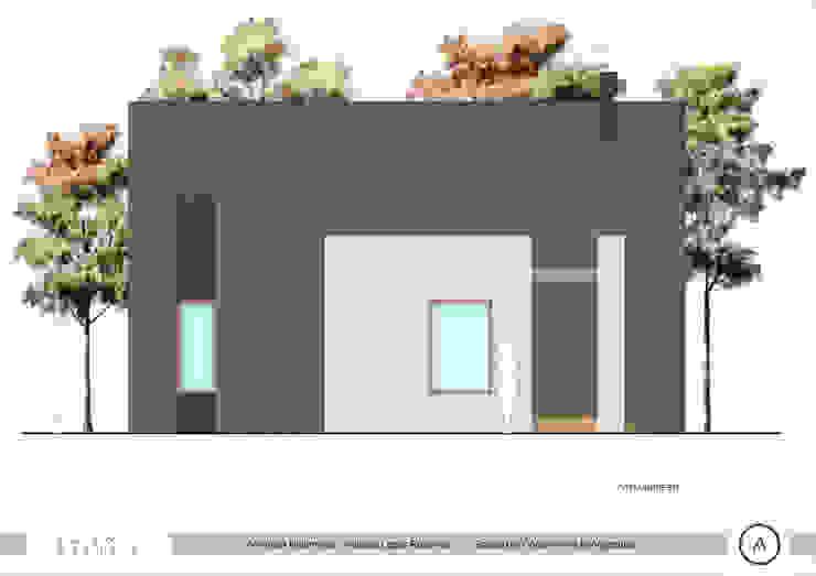 Vista Acceso Paico Casas estilo moderno: ideas, arquitectura e imágenes