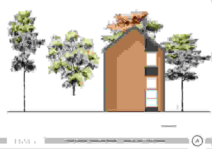 Vista Lateral Sur Paico Casas estilo moderno: ideas, arquitectura e imágenes