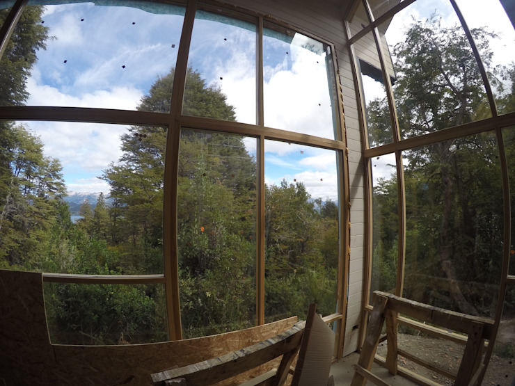 Casa Lopez Rosende: Ventanas de estilo  por Paico,Moderno
