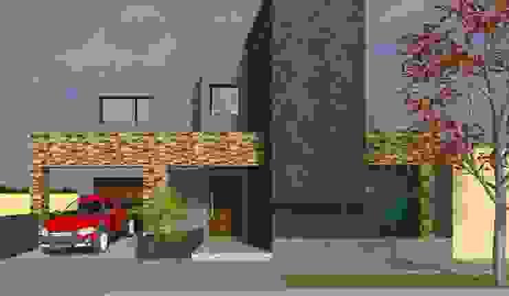 VIVIENDA MINIMALISTA Casas minimalistas de Obras & Proyectos Minimalista