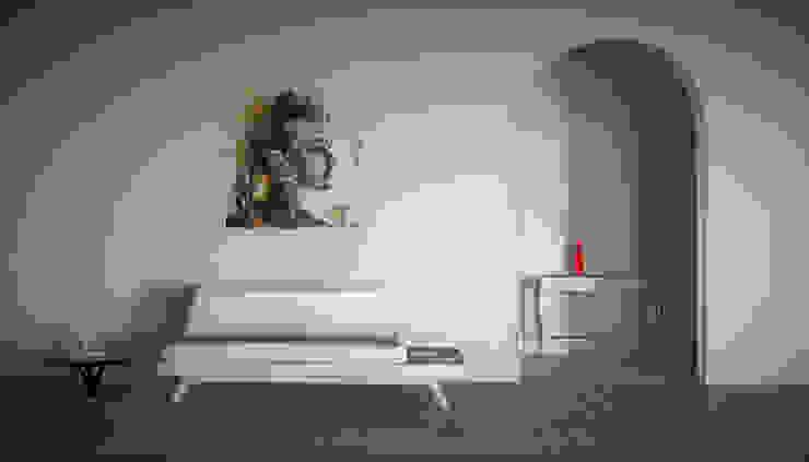 Giovanni Cardinale Designer Modern living room Wood White