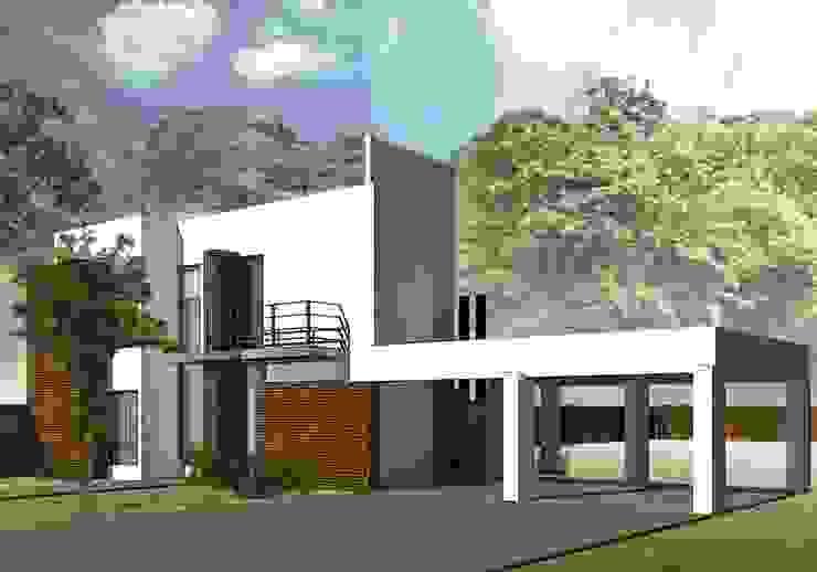 Proyecto de Ampliación Casas modernas: Ideas, imágenes y decoración de Estudio AM Arquitectura Moderno