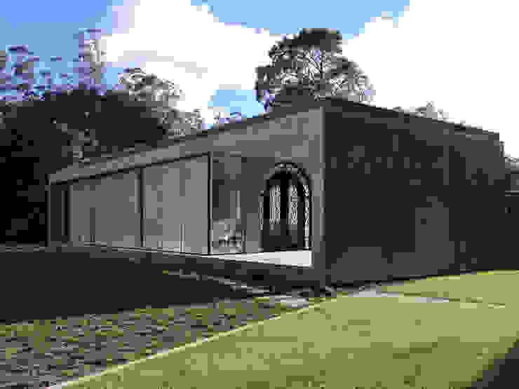 A Glass House Casas minimalistas por ARCO mais - arquitectura e construção Minimalista Betão armado