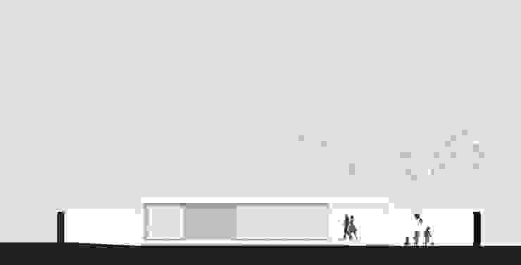 main façade por ARCO mais - arquitectura e construção Minimalista
