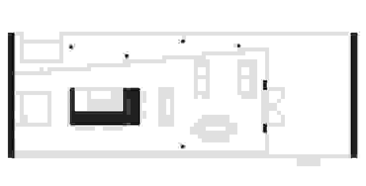 floor plan por ARCO mais - arquitectura e construção Minimalista