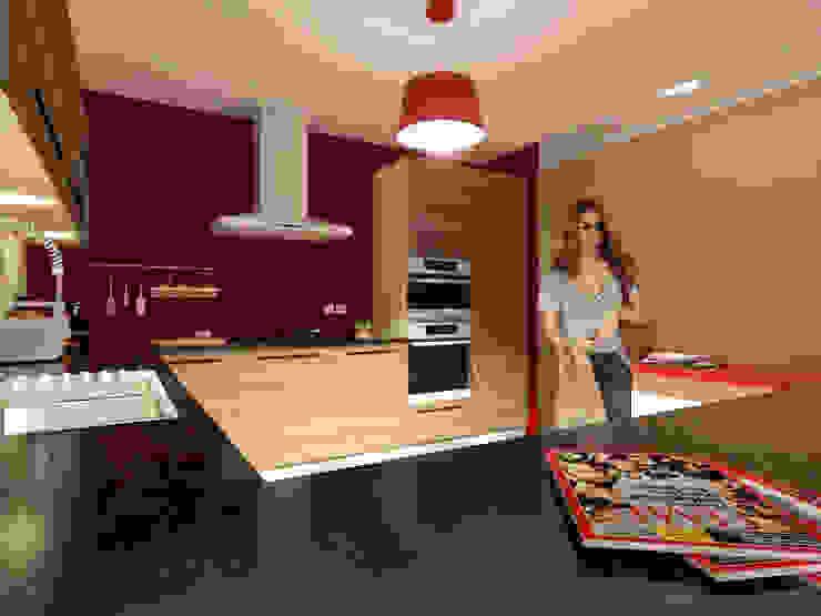 Projecto de Remodelação na Marisol Garagens e arrecadações modernas por Projectos Arquitectura & 3D Moderno