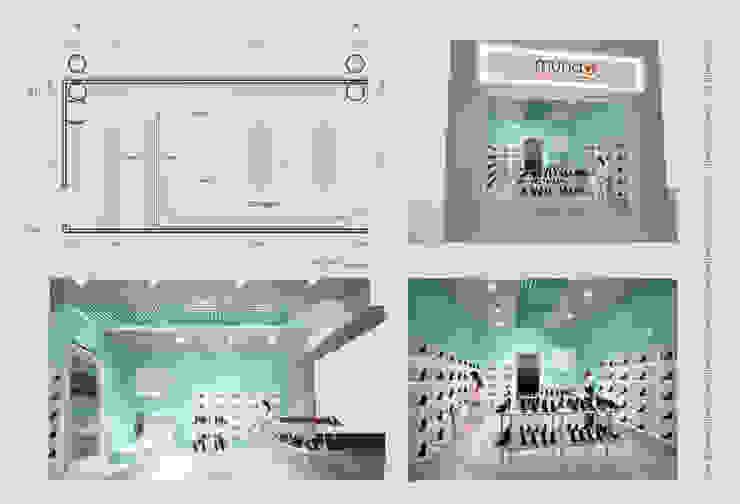 Lámina de presentación de Diez y Nueve Grados Arquitectos