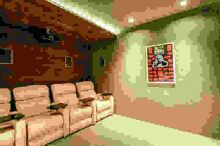 Salas multimedia modernas de Art.chitecture, Taller de Arquitectura e Interiorismo 📍 Cancún, México. Moderno