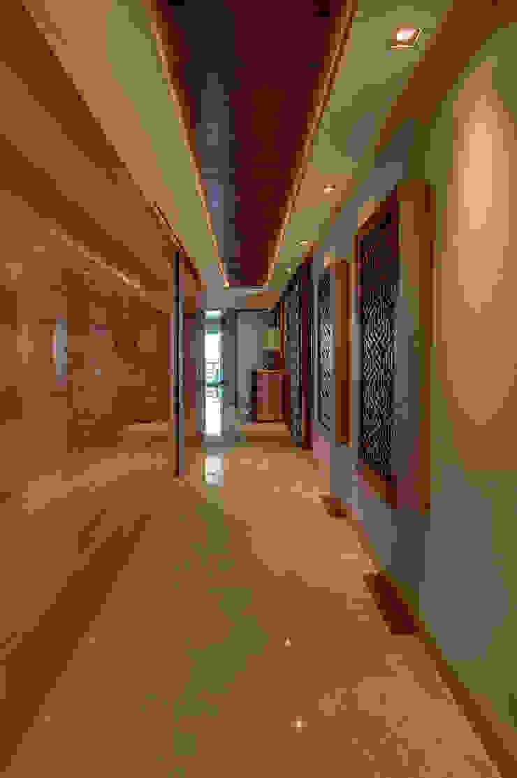 Pasillos, vestíbulos y escaleras modernos de Art.chitecture, Taller de Arquitectura e Interiorismo 📍 Cancún, México. Moderno