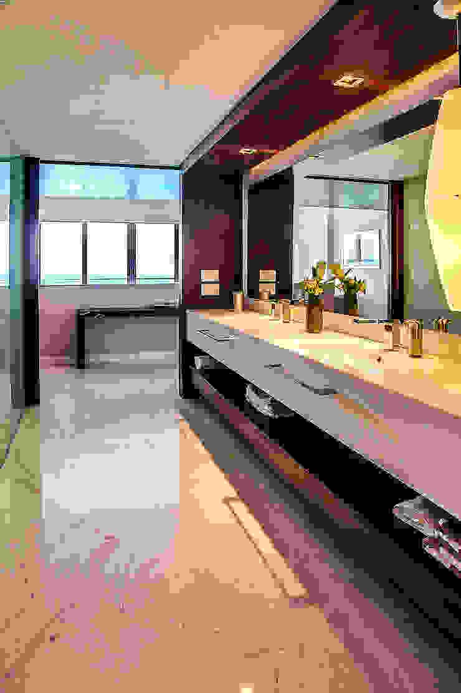 Pent-house LAHIA Baños modernos de Art.chitecture, Taller de Arquitectura e Interiorismo 📍 Cancún, México. Moderno