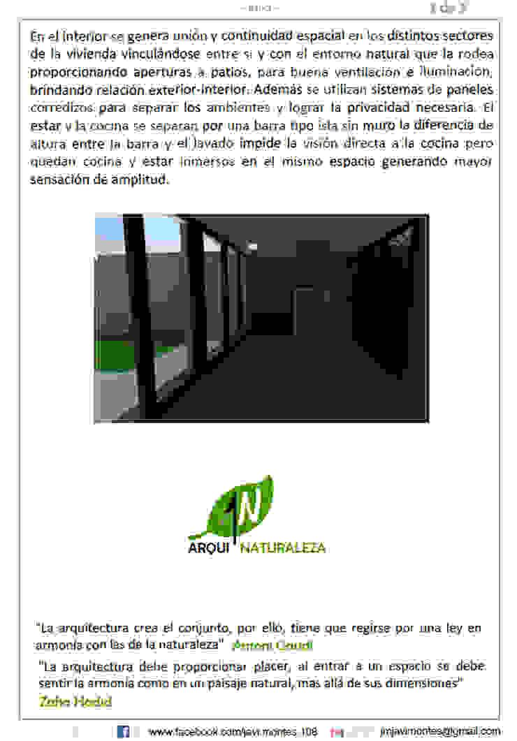 REMODELACIÓN VIVIENDA de ARQUI - NATURALEZA