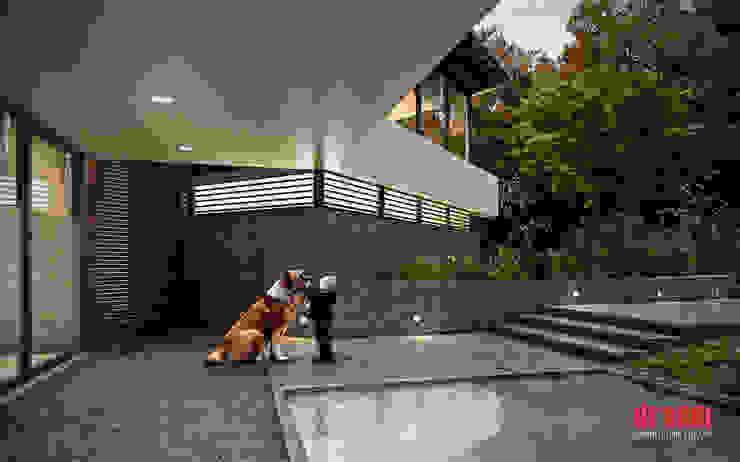 Country style house by Estudio Meraki Country