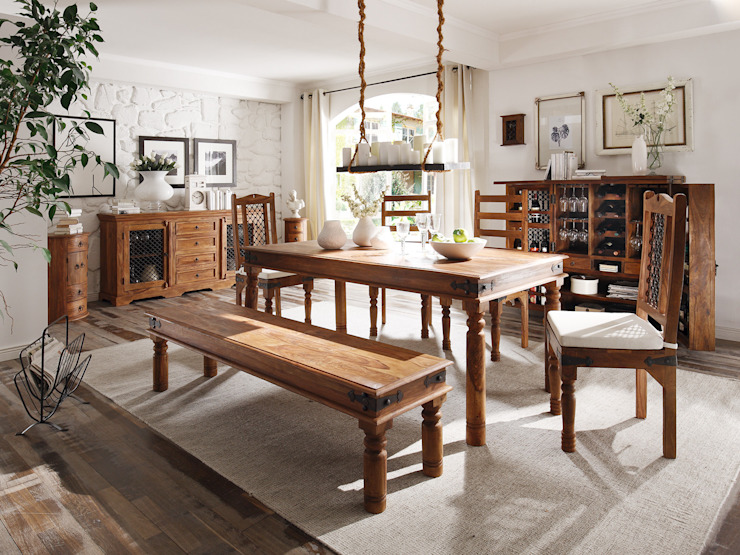 Sunchairs GmbH & Co.KG Dining roomTables Wood Brown