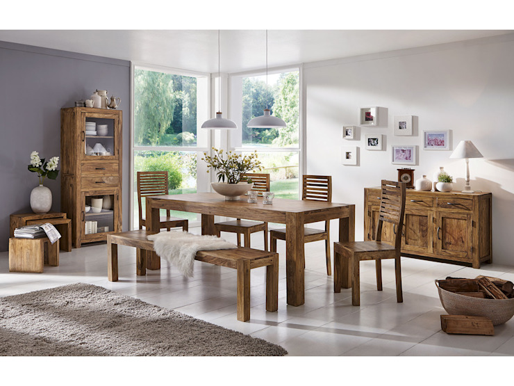 Sunchairs GmbH & Co.KG Dining roomChairs & benches Wood Brown