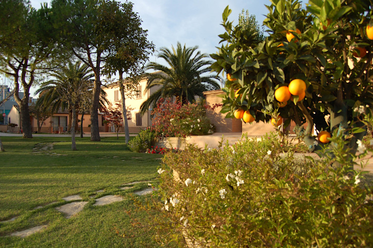 Сад в средиземноморском стиле от GAAP Studio Giorgio Asciutti Architetto Paesaggista Средиземноморский