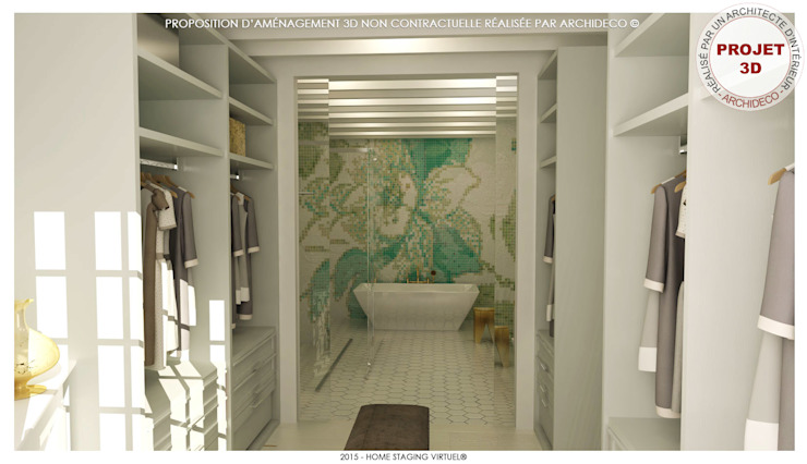Eclectic style bathrooms by ArchiDeco Eclectic