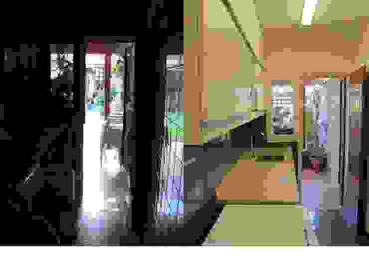 Una cocina con cambios de Verde Urbano Arquitectura