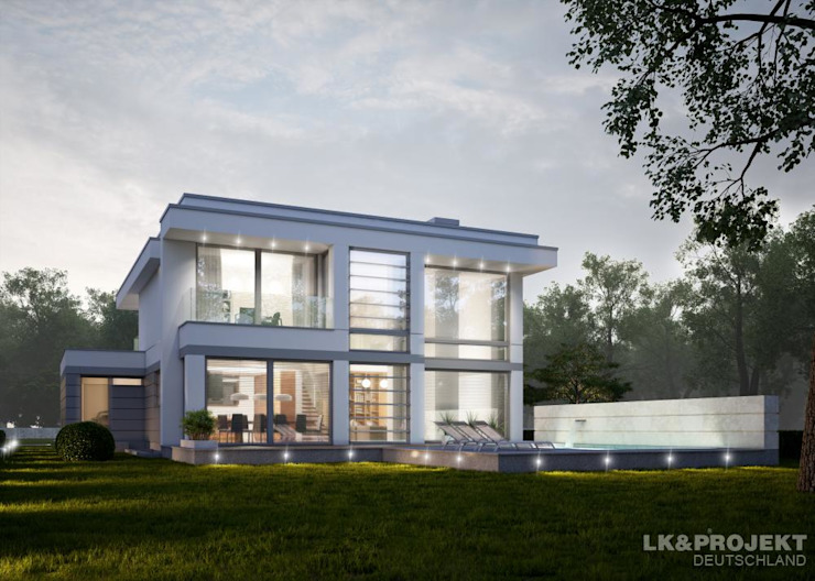 Exklusiv Haus - Leben auf höchstem Niveau Moderne Häuser von LK&Projekt GmbH Modern
