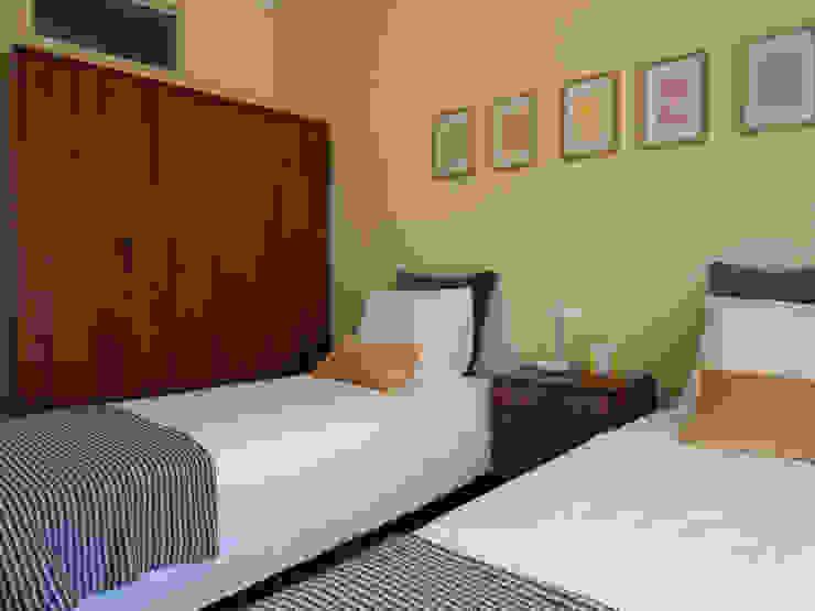 Apartamento Anos 50 | Depois Quartos ecléticos por MUDA Home Design Eclético