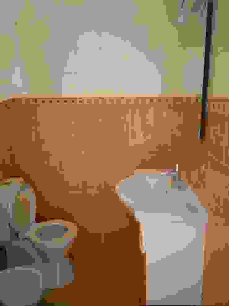 Apartamento Anos 50 | Antes Casas de banho ecléticas por MUDA Home Design Eclético
