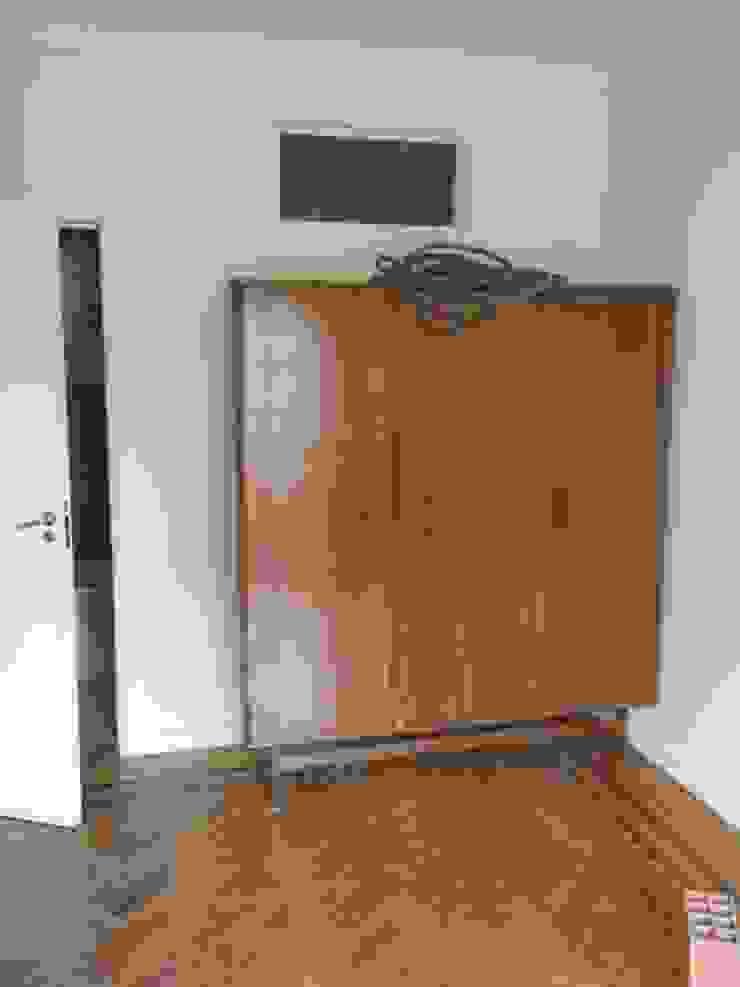 Apartamento Anos 50 | Antes Quartos ecléticos por MUDA Home Design Eclético