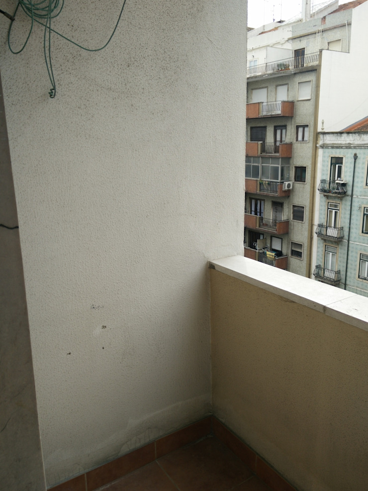 Apartamento Anos 50 | Antes Varandas, marquises e terraços ecléticos por MUDA Home Design Eclético