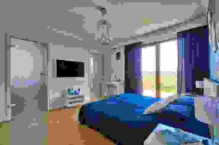 Спальня в стиле модерн от Biuro Projektów MTM Styl - domywstylu.pl Модерн