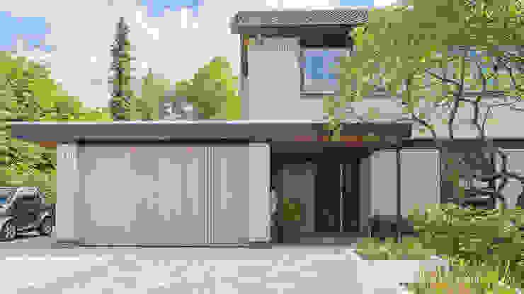 Casas modernas por Joep van Os Architectenbureau Moderno