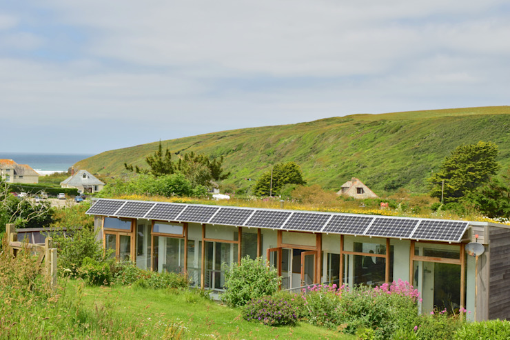 Porthcothan Responsive Home Innes Architects 現代房屋設計點子、靈感 & 圖片