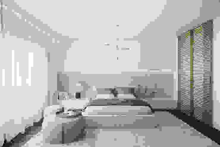 MASTER SUITE Quartos modernos por DZINE & CO, Arquitectura e Design de Interiores Moderno