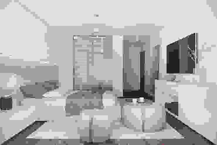 모던스타일 침실 by DZINE & CO, Arquitectura e Design de Interiores 모던