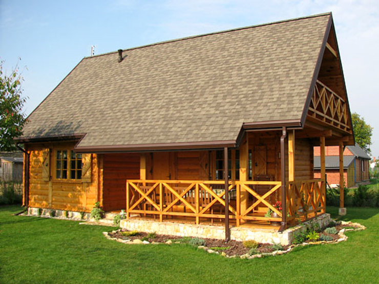 Country style house by Biuro Projektów MTM Styl - domywstylu.pl Country