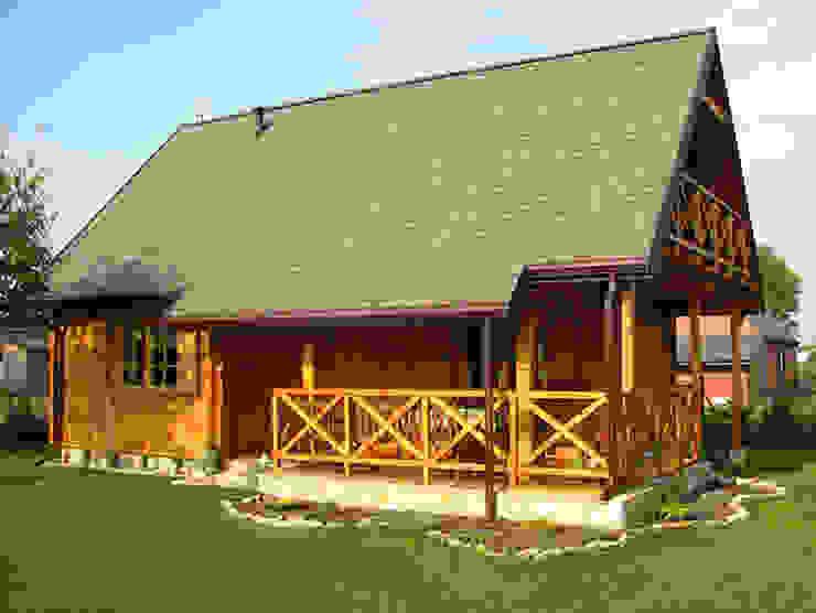 Casas de estilo rural de Biuro Projektów MTM Styl - domywstylu.pl Rural